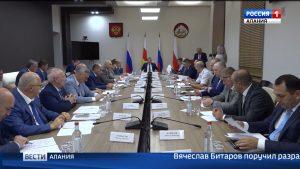 Вячеслав Битаров поручил разработать дорожную карту по выведению «Владикавказских теплосетей» из кризиса