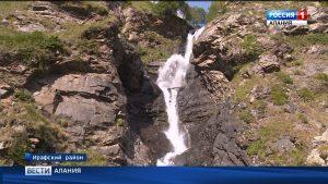В Нацпарке «Алания» началось обустройство экологической тропы к водопаду Галдоридон