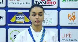 Ирэна Хубулова завоевала «золото» первенства Европы по дзюдо среди юниоров