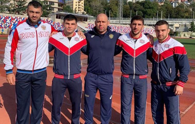 Четверо североосетинских вольников вошли в состав сборной России на чемпионат мира