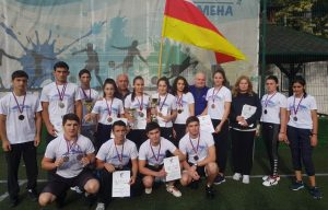 Команда Эльхотовского многопрофильного колледжа завоевала «бронзу» VII Всероссийского фестиваля спорта
