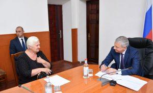 Вячеслав Битаров провел прием граждан в Моздоке