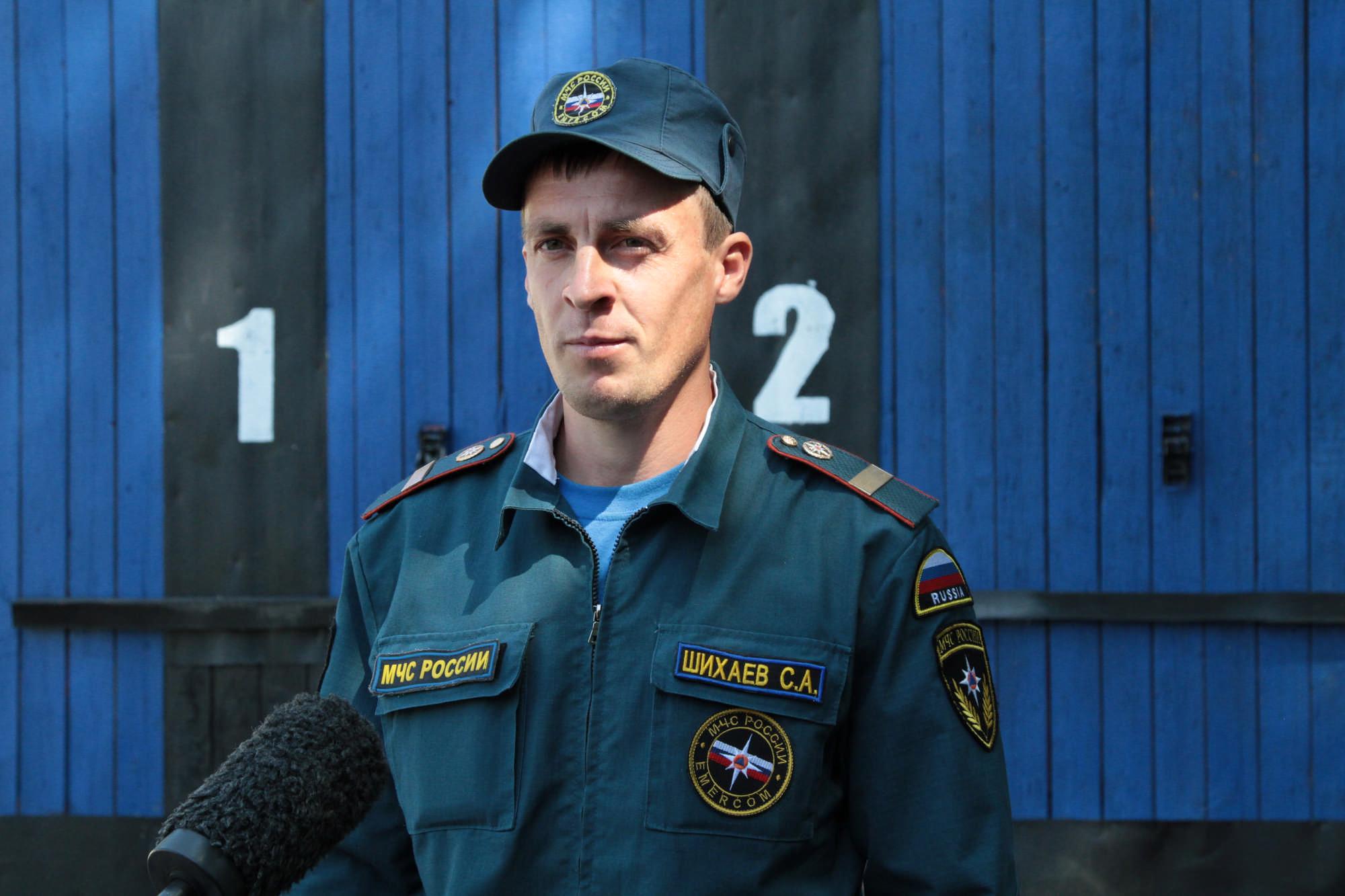 Пожарный из Северной Осетии признан лучшим на Северном Кавказе