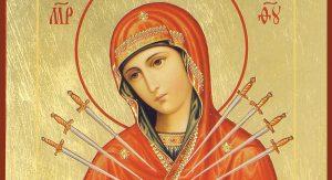 В Северную Осетию привезут икону Божьей Матери «Семистрельная»