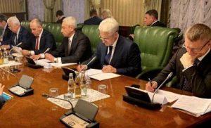 Борис Джанаев принял участие в совещании под руководством вице-премьера РФ Дмитрия Козака