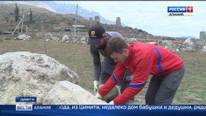 Инициативная молодежь восстанавливает древние святилища в Северной Осетии