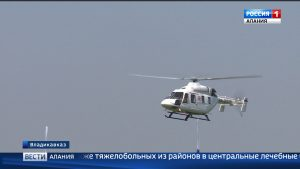 В Северной Осетии работает вертолет санитарной авиации
