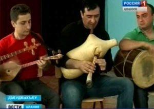 Фольклорный коллектив грузинской народной песни «Тифлиси» даст концерт во Владикавказе