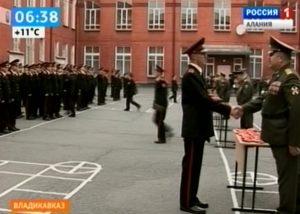 Воспитанники Владикавказского кадетского корпуса приняли присягу