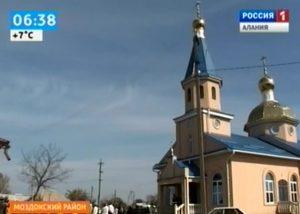 В храме станицы Луковской появилась новая колокольня