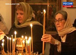 В Северной Осетии праздник Крещения Господня отметили тысячи православных