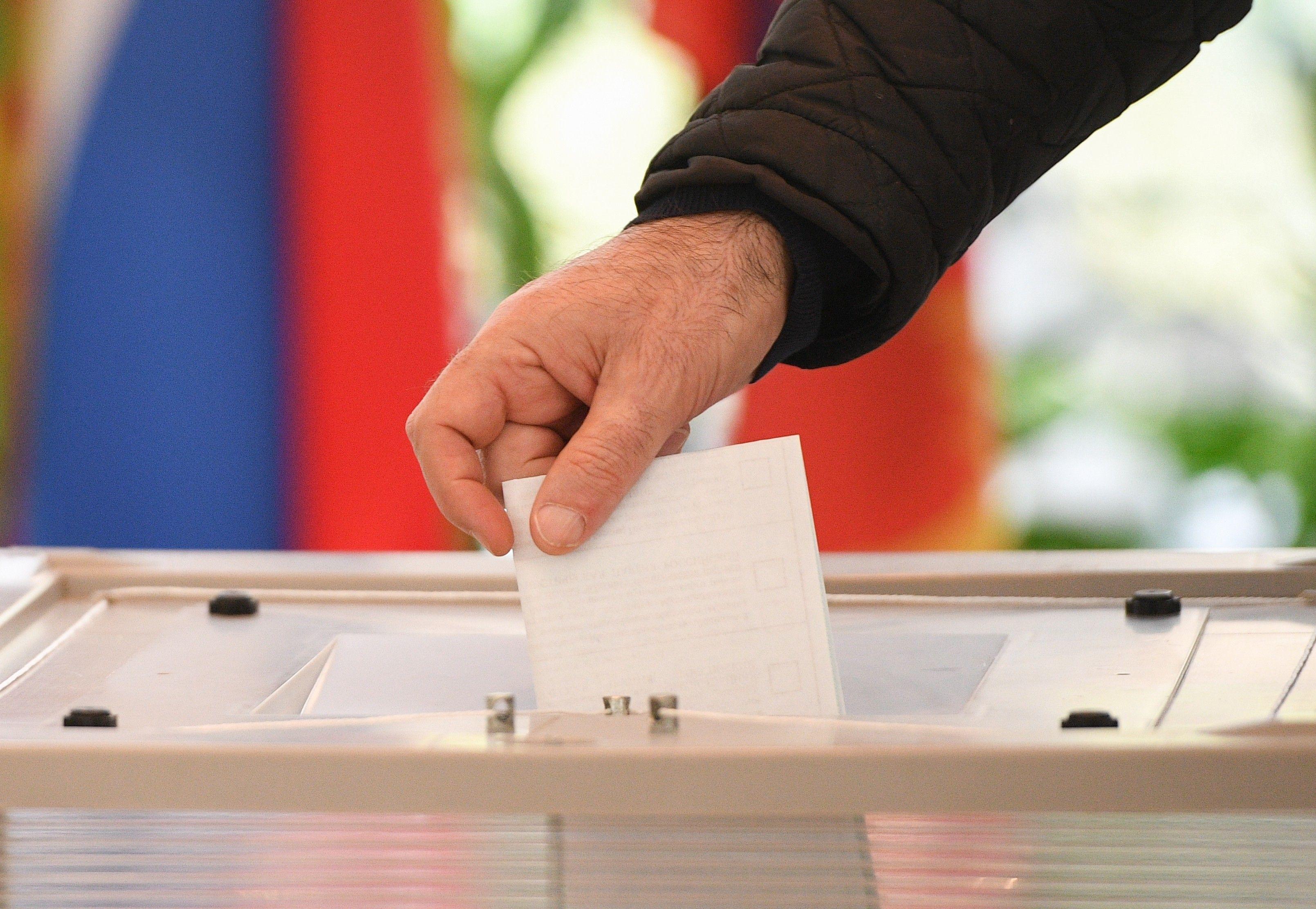 ЦИК: в Беслане проголосовало 35,2% избирателей