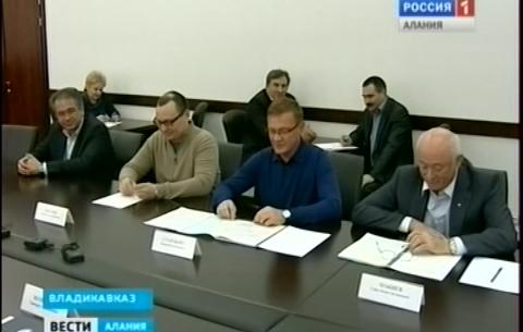 Глава Северной Осетии встретился с руководителем Федерального дорожного агентства Романом Старовойтом