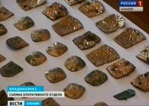 Сотрудники правоохранительных органов Северной Осетии пресекли попытку сбыта антикварного золота
