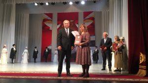 В Осетинском театре чествовали врачей скорой помощи