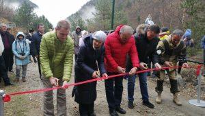 В горной Дигории открыли экотропу к водопаду Галдоридон