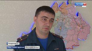 Количество пожаров в Северной Осетии возросло