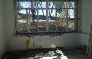 В психиатрической больнице полным ходом ведутся ремонтные работы