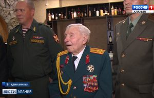 Вековой юбилей отметил ветеран Великой Отечественной войны Иван Селезнев