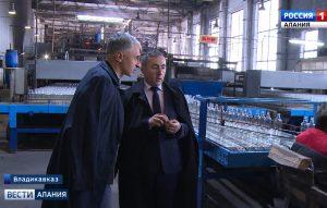 Во Владикавказе набирает обороты новое предприятие по производству стекольной тары