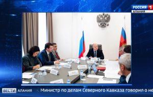 Вячеслав Битаров и Сергей Чеботарев обсудили в Москве вопросы развития курорта «Мамисон»