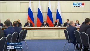 Вячеслав Битаров принял участие в расширенном заседании президиума Госсовета под председательством Владимира Путина