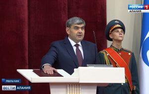 Вячеслав Битаров принял участие в церемонии инаугурации Главы Кабардино-Балкарии Казбека Кокова