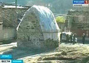Архитектурный памятник федерального значения в селе Нузал в Северной Осетии находится под угрозой