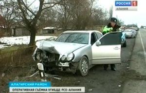 В Северной Осетии произошла серия крупных ДТП