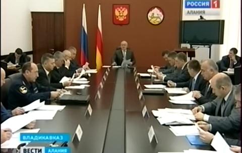 Глава РСО-Алания провел координационное совещание по обеспечению правопорядка в республике