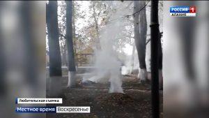 Жители ст. Архонской возмущены частыми случаями сжигания сухих листьев