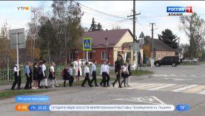 Активисты ОНФ организовали урок по безопасности дорожного движения для учеников в ст.Луковской