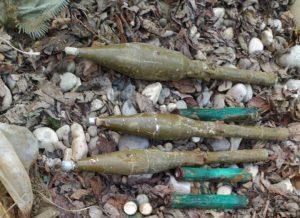 Взрывотехники обезвредили противотанковые гранаты, найденные на окраине Сунжи