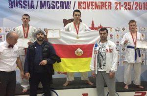 Четыре медали завоевали осетинские спортсмены на первенстве мира по всестилевому каратэ