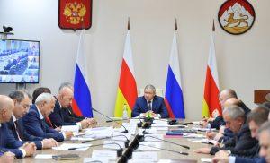 Формирование комфортной городской среды обсудили на оперативном совещании в доме правительства