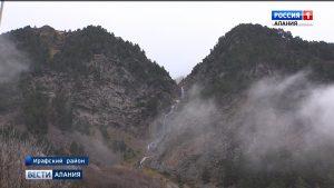 Экотропа к водопаду Галдоридон открылась в Нацпарке «Алания»