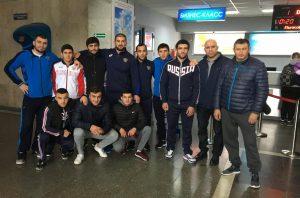 В Северной Осетии встретили призеров первенства мира по спортивной борьбе