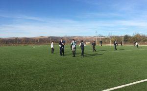 В Чиколе открыли детскую и спортивную площадки