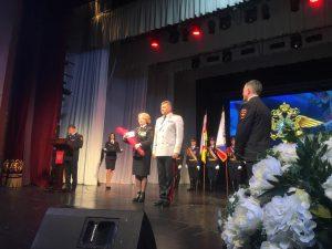 В Осетинском театре наградили отличившихся сотрудников МВД