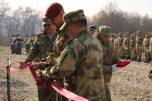 В Северной Осетии открыт новый тактико-огневой комплекс Росгвардии