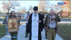 Владикавказ встретил участников автомобильного крестного хода «Святая Русь»
