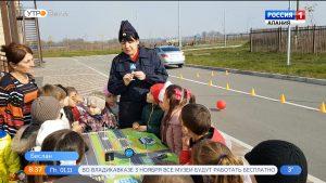 Воспитанникам бесланского детсада рассказали о правилах поведения на дороге