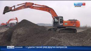 В Ардонском районе продолжается строительство объездной дороги вокруг села Мичурино