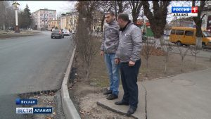 Активисты ОНФ прошлись по «Карте убитых дорог» в Беслане
