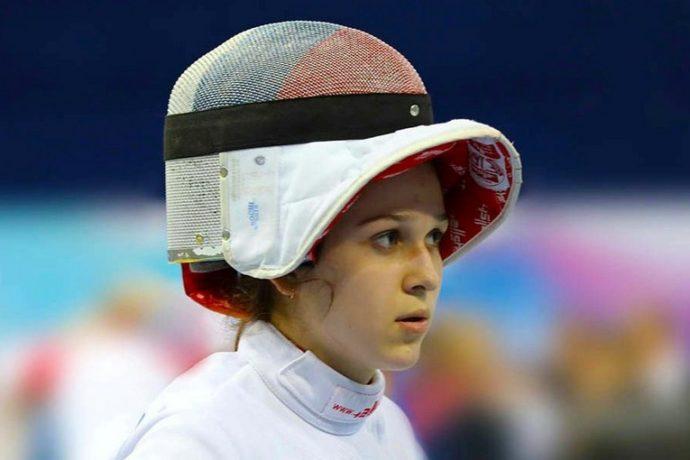 Шпажистка Яна Бекмурзова завоевала «бронзу» на турнире во Франции