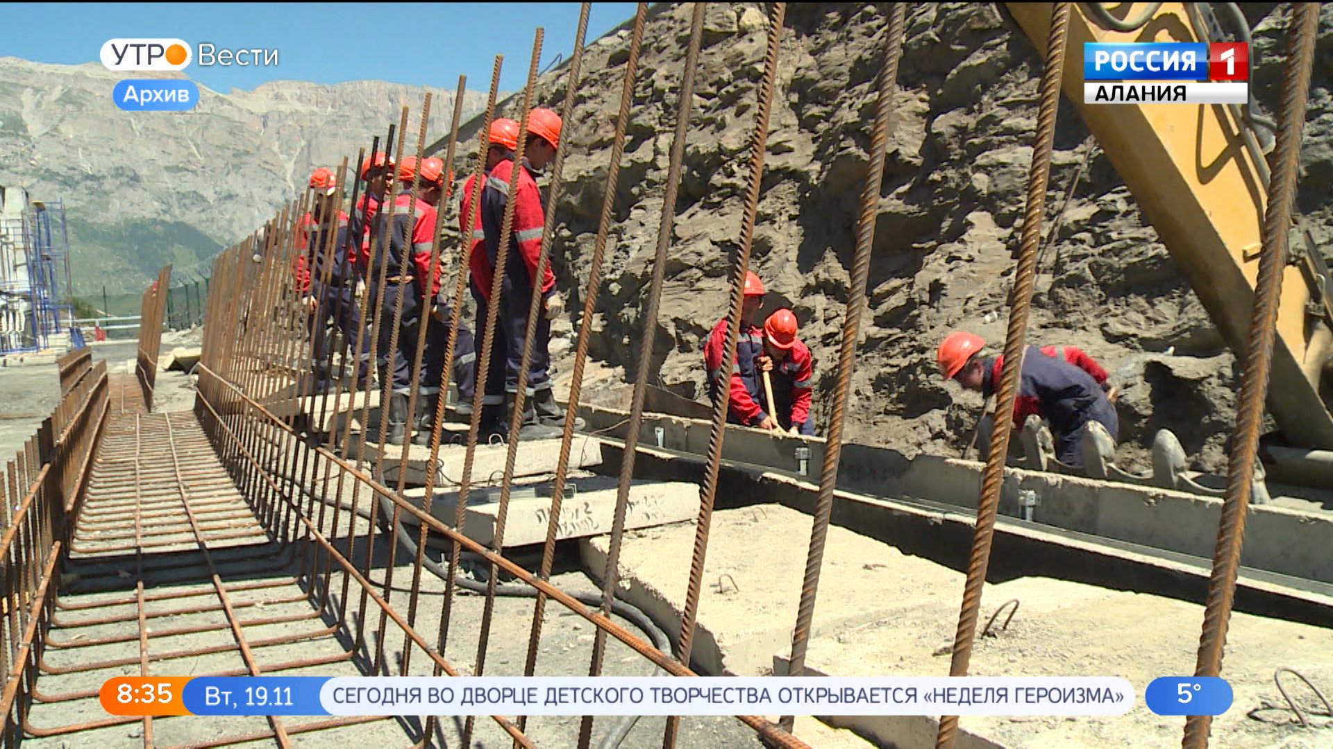Ввод в эксплуатацию Зарамагской ГЭС-1 намечен на декабрь