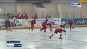 Юные хоккеисты ЮФО и СКФО сразились на Ледовой арене Владикавказа