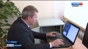 Школы и администрацию с. Чермен подключили к интернету через оптоволоконную сеть