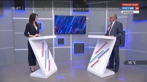 Россия 24. Уровень зарплат учителей в РСО-А