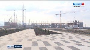 Во Владикавказе полным ходом идет строительство военного госпиталя и нового корпуса Суворовского училища